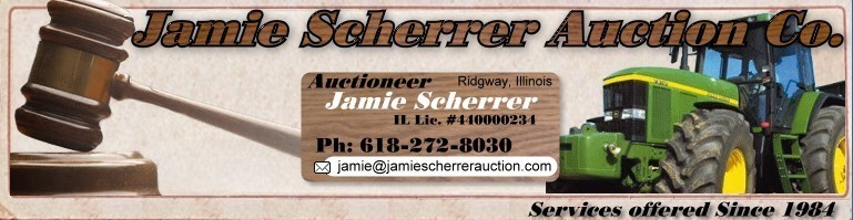 Jamie Scherrer Auction logo